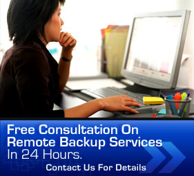 Free consultation on remote backup services in 24 hours. Contact us for details.